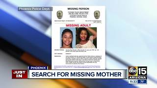 Police: Woman reported missing after leaving west Phoenix home; baby found abandoned