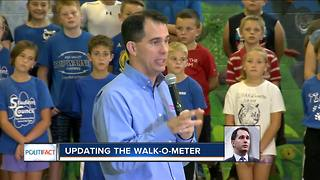 PolitiFact Wisconsin: Walk-O-Meter - Video