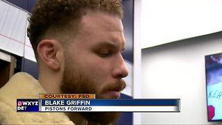 Blake Griffin said he hasn't asked Pistons for a trade