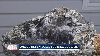 Angie's List explores bubbling boulders - Video