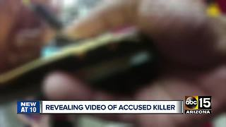 New video of accused killer Charlie Malzahn - Video