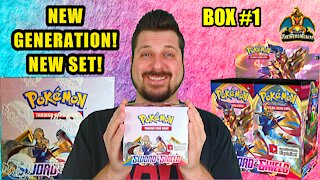 Sword & Shield Booster Case (Box 1) | Pokemon Opening