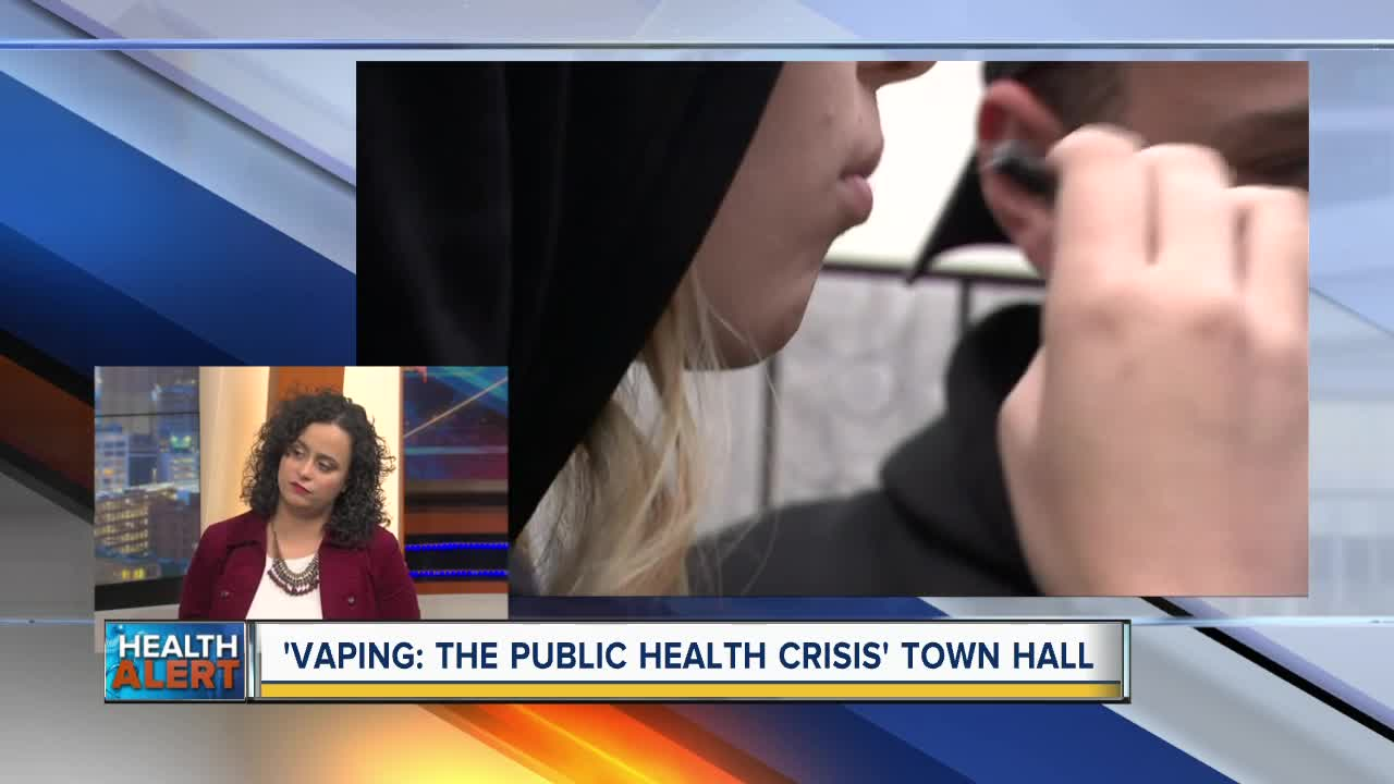 Upcoming town hall to discuss health impacts of vaping