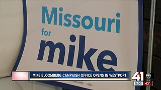 Mike Bloomberg campaign office opens in Westport