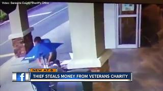 Hundreds stolen from Sarasota veterans group at booth outside Publix - Video