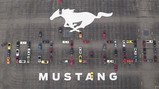 Timelapse of Ford's 10 millionth Mustang - Video