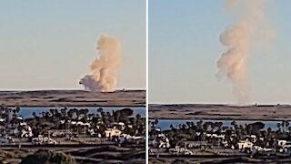 Epic test launch of SpaceX's Starship SN8 prototype