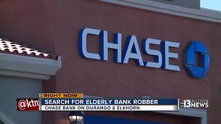 Police looking for man who robbed a Chase Bank