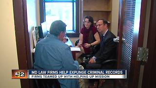 Maryland law firms help expunge criminal records for Giving Tuesday - Video