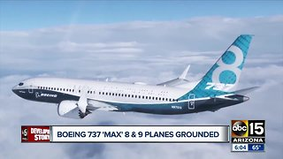 Boeing 737 and Max 8 and 9 planes grounded - Video