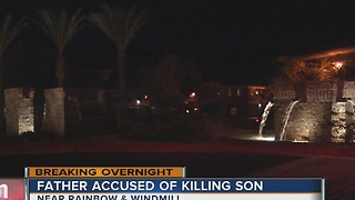 Father shoots and kills his son - Video