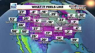 13 First Alert Weather for January 2 2018 - Video