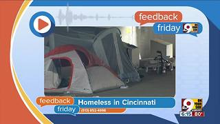 Feedback Friday: Homelessness in Cincinnati - Video