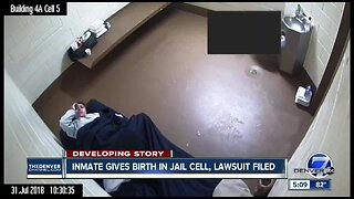 Woman who gave birth alone in Denver jail cell files lawsuit