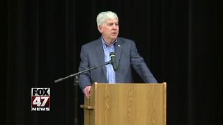 Snyder headlines Lansing public safety forum - Video