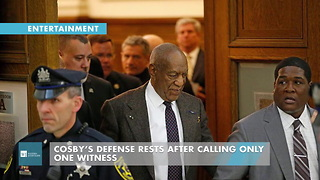 Cosby's Defense Rests After Calling Only One Witness - Video