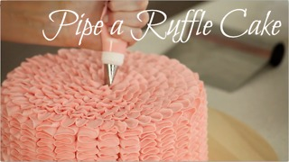 Perfect ruffle cake recipe