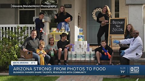 Arizona Strong: Business owners share talents and resources