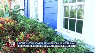 House safety check program keeps properties safe before and after storms - Video