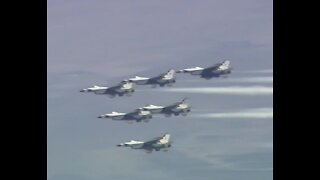 Thunderbirds will fly right before Raiders game on Monday