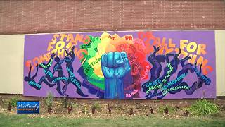 North side uplifting mural unveiled