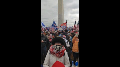 So Many People at Stop the Steal Rally - January 6th, 2021