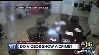 Videos of possible abuse of migrant children being reviewed - Video