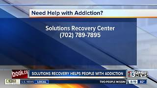 Solutions Recovery talks about addiction in Las Vegas