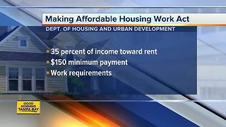 HUD plan would raise rent for millions in public housing - Video