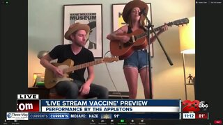 Preview of the Appletons 'Live Stream Vaccine'
