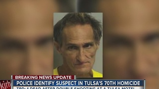 Suspect on the run following West Tulsa homicide at Holiday Motel - Video