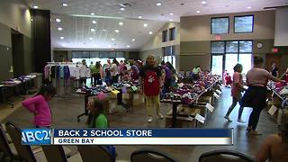 Back 2 School Store helps families prepare for upcoming year - Video