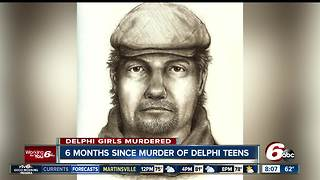 Six months, 24,000 tips later: Delphi killer remains on the run - Video
