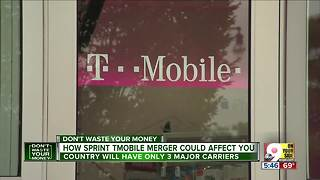 How Sprint, T-Mobile merger could affect you - Video
