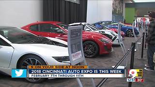 2018 Cincinnati Auto Expo is this week - Video