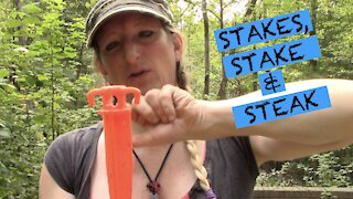 STAKES - SOME BOUGHT, SOME MADE