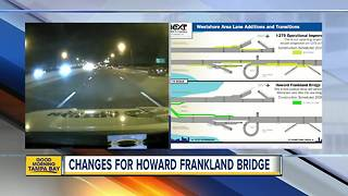 Proposed changes to reduce congestion on Howard Frankland Bridge to be discussed Wednesday - Video