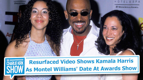 Resurfaced Video Shows Kamala Harris As Montel Williams' Date At Awards Show