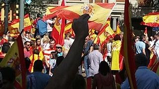 Rally for Spanish Unity Held One Week After Disputed Catalonia Referendum - Video