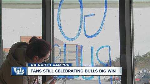 Plenty of excitement behind UB Bulls upset