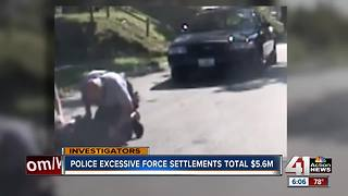 Police excessive force settlements total $5.6 million - Video