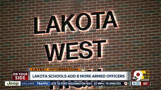 Lakota West adds 8 more armed officers