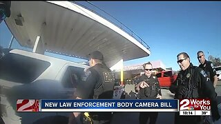 New law enforcement body camera bill sparks debate