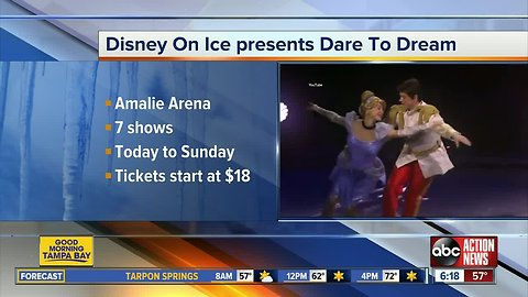 Disney On Ice: Dare to Dream coming to Amalie Arena this weekend