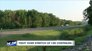 Fight over stretch of I-90 continues