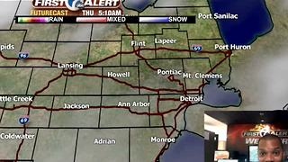 Thanksgiving forecast - Video