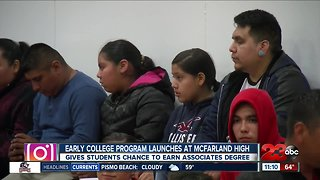 Early College Program launches at McFarland High