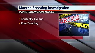 Police investigate shooting that left one dead in City of Monroe - Video
