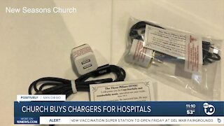Church buys chargers for hospitals