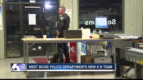 Meet Boise Police Departments new K-9 team